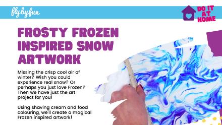 Frosty Frozen Inspired Art