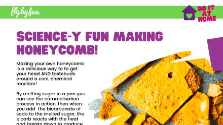 Science-y Fun Making Honeycomb!